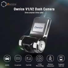 Ownice V1 V2 Mini Adas DVR Mobil Carmera Dash Cam Full HD1080P Mobil Perekam Video G-Sensor Malam Visi dashcam Aksesoris(China)