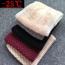 Зимний шарф для женщин, брендовый Детский шарф для мальчиков, уплотненный шерстяной шарф с воротником, шарфы для девочек, детский хлопковый шарф унисекс
