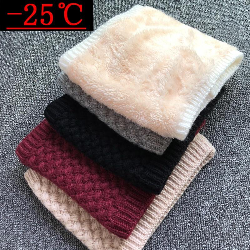 2019 Winter Scarf For Women Brand Children Boys Scarf Thickened Wool Collar Scarves Girls Child  Cotton Unisex Neck Scarf