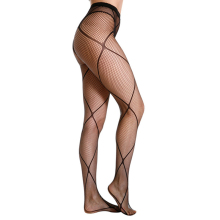 Fashion Sexy Net Fishnet Body Stockings women Fishnet Pattern Pantyhose Party Tights Elastic Geometric shape Stockings R9083 see thru flower pattern fishnet tights