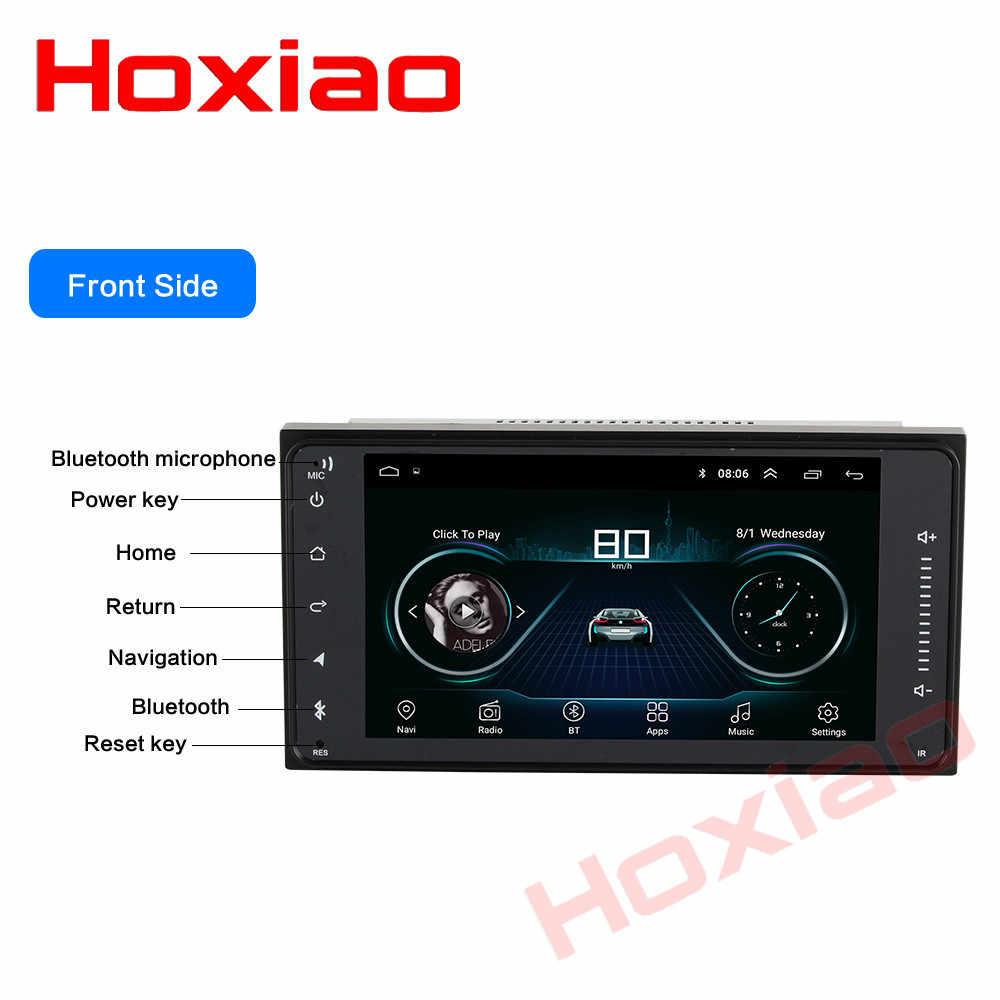 Samochód Android ODTWARZACZ DVD dla TOYOTA COROLLA Camry Land Cruiser HILUX PRADO RAV4 7 cal nawigacja gps WIFI RDS 200 X 100mm