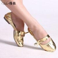 Supernova Sale New 2016 Gum Outsole Belly Dance Shoes Bellydance Women Ballet Dancing Shoes Yoga Cotton