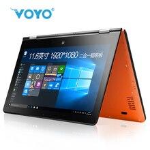 "VOYO VBOOK A1 Celeron N3450 4G Laptop Computer 11.6"" APLLO LAKE 360 YOGA 2 in 1 Tablet 4G RAM 120G SSD Camera BT handwriting"