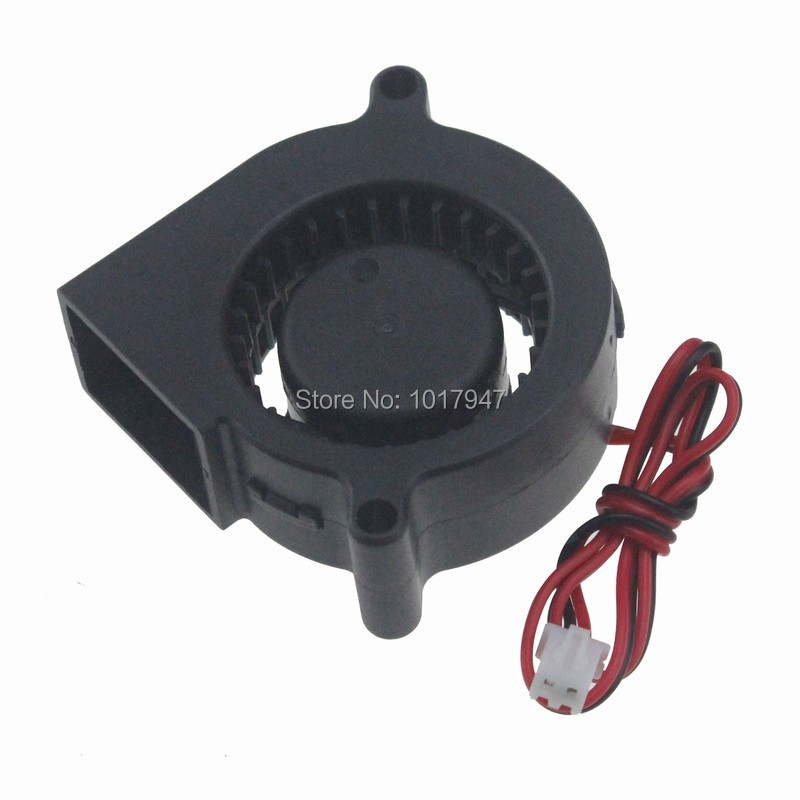 Купить с кэшбэком 1pcs Gdstime 5V 2Pin DC 5cm 50mm x 20mm Centrifugal Cooling Cooler Blower Fan