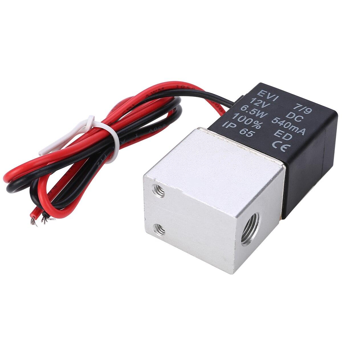"""1 шт. Электрический электромагнитный клапан из нержавеющей стали электромагнитный клапан DC 12 В 1/"""" Электрический электромагнитный клапан для воды воздуха"""