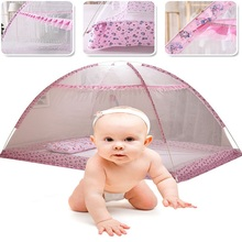 Summer Infant Kids Mosquito Net Baby Bed Mosquito Net Decor Tent Folding Bed Canopy Baby Girl Room Decoration Camping Bedroom