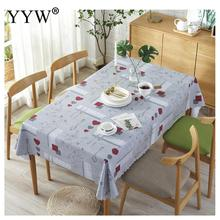 Pvc Tablecloth Waterproof Table Cover Rectangle Desk Cloth For Table Manteles Wipe Covers