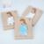 Juego de Toallas De Bambú de Impresión de Enfermería Madre de La Momia de múltiples funciones de Muselina Cubierta De Enfermería en periodo de Lactancia Para la Mamá De Enfermería Bolsa Azul