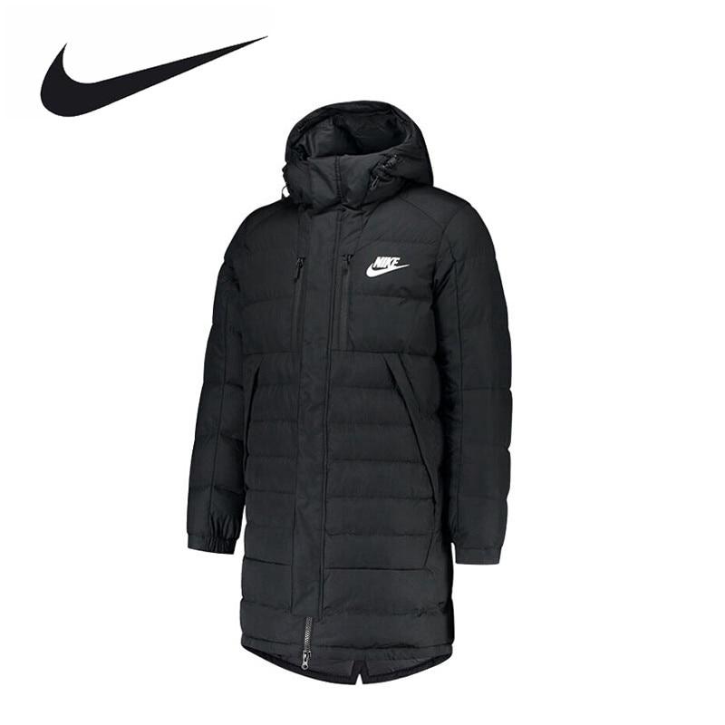 Nike Original New Arrival DOWN FILL PARKA Men's Keep Warm Hooded Down Coat Sportswear 807394-011 original nike women s down coat vest warm down jacket sportswear