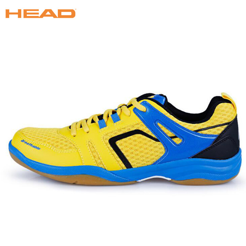 HEAD Unisex Badminton Shoes Professional Sneakers Breathable Sport Shoes Brand Table Tennis Mans footwear Badminton Shoes 35-44 professional cushioning volleyball shoes unisex light sports breathable shoe women sneakers badminton table tennis shoes g364