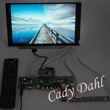 HDMI CVBS RF USB VGA Audio Video PC Monitor V59 Controller Board + IPS N116HSE EBC 1920x1080 EDP LCD Panel For Raspberry Pi 3(China (Mainland))