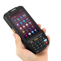 Android портативный терминал сбора данных с 1D считыватель штрих кода КПК Wi Fi 4G RFID сканер штрих кода