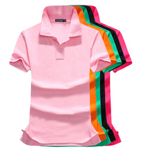 High quality 2019 Summer New womens short sleeve polos shirts casual lapel cotton fashion slim tops P