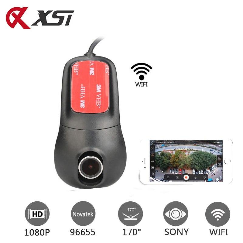 XST Full HD 1080P Novatek 96655 IMX 322 Car DVR WIFI Dash Camera Car Camera Dash