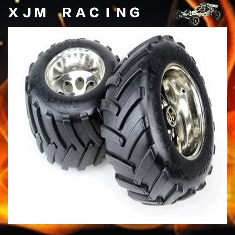 1/5 rc car racing toy parts,BM bigfoot one generation tire( x 2pcs/set)assembly for baja 5b/5t parts
