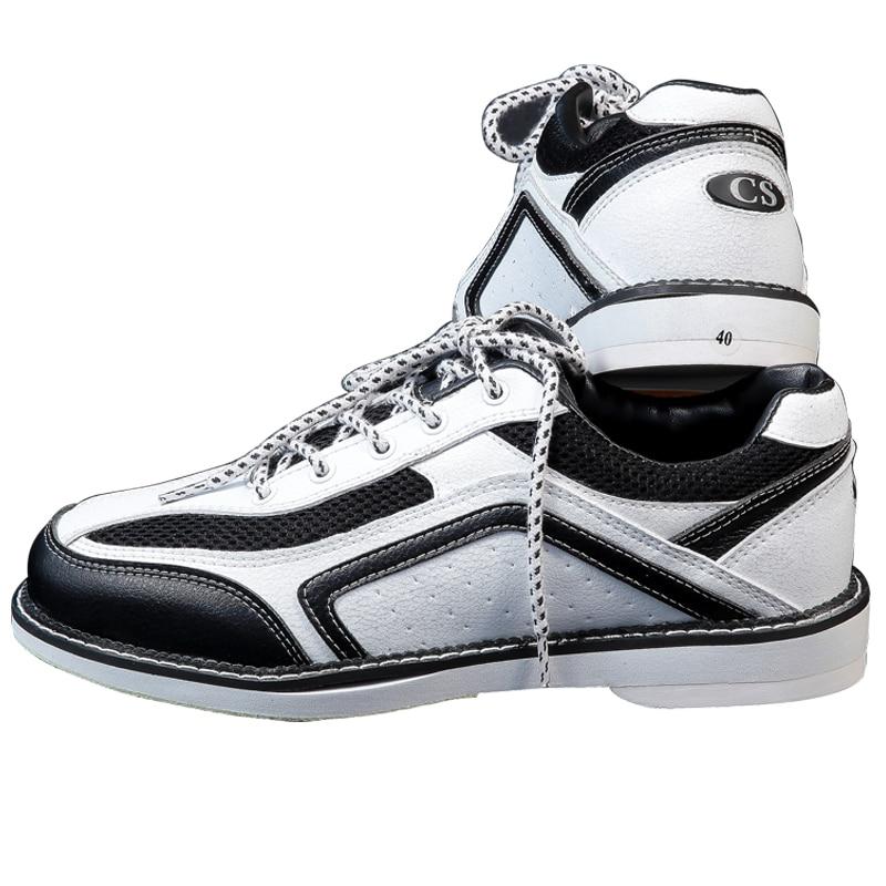 2017 Men and women white bowling shoes imported super comfortable soft fiber Platinum sports shoes Breathable sneakers shoes bsi women s 651 bowling shoes
