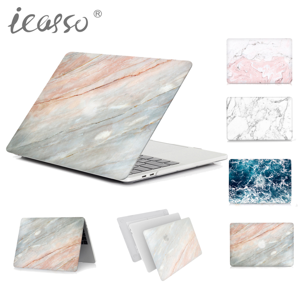 icasso high quality Marble Hard case cover for Macbook Air Pro 11 12 13 15 inch Protect shell laptop case macbook case cover  protect flim 6av7 884 2ae20 4bx0 for hmi ipc 477c pro 15 inch