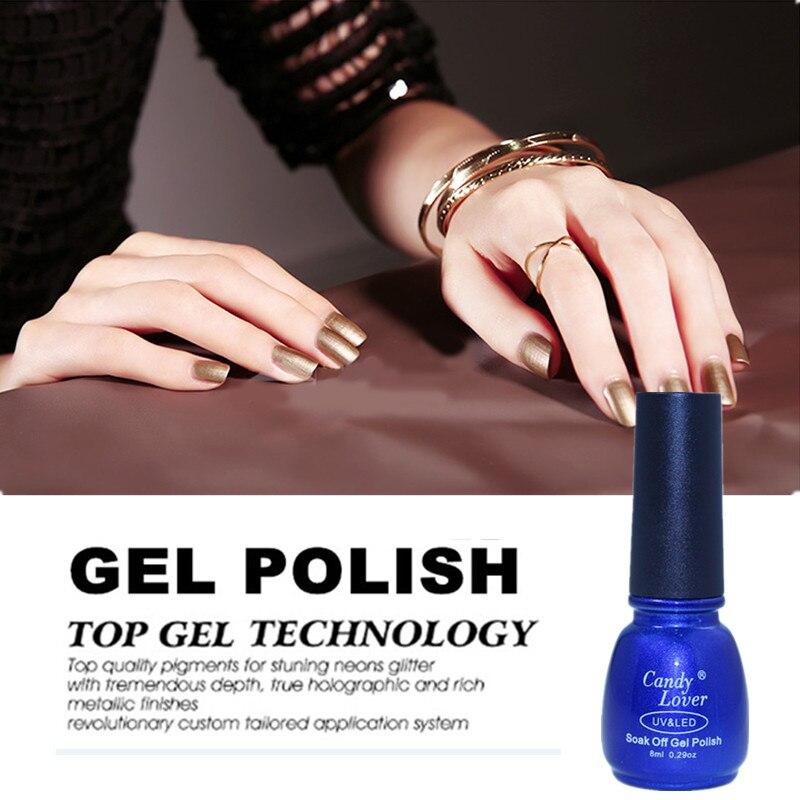 Candy Lover Uv Gel Nail Polish For French Nail Tips 8ml