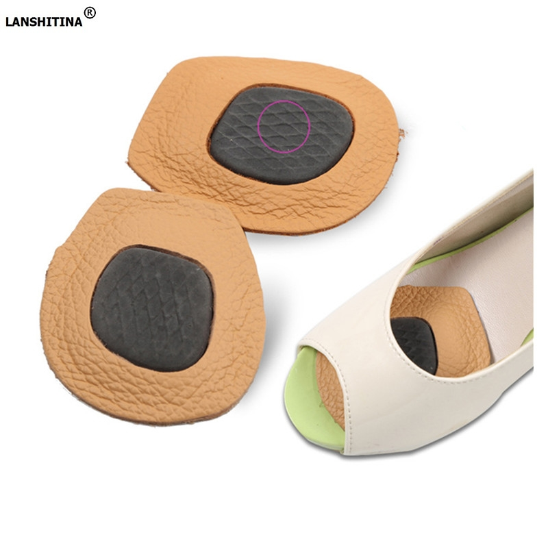 2017 Rushed Cowskin Insole High Heels Foot Pad Anti Slip Shock Pain Inserts Sapato Feminino Accessoire Chaussure Shoe Insesrts