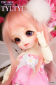 LUTS Tiny Delf series TYLTYL elf ears 1/8 sd bjd doll(include makeup and eyes)