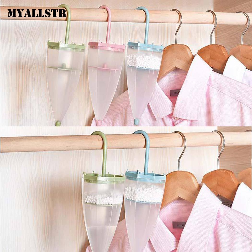 Umbrella Shape Moisture Absorber Dehumidifier Box For Wardrobe Bathroom Home