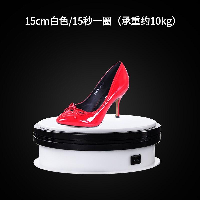 Plaque tournante de photographie de 360 degrés pour le diamètre de tir de produit, bijoux, chaussures, tir de sac et affichage CD50