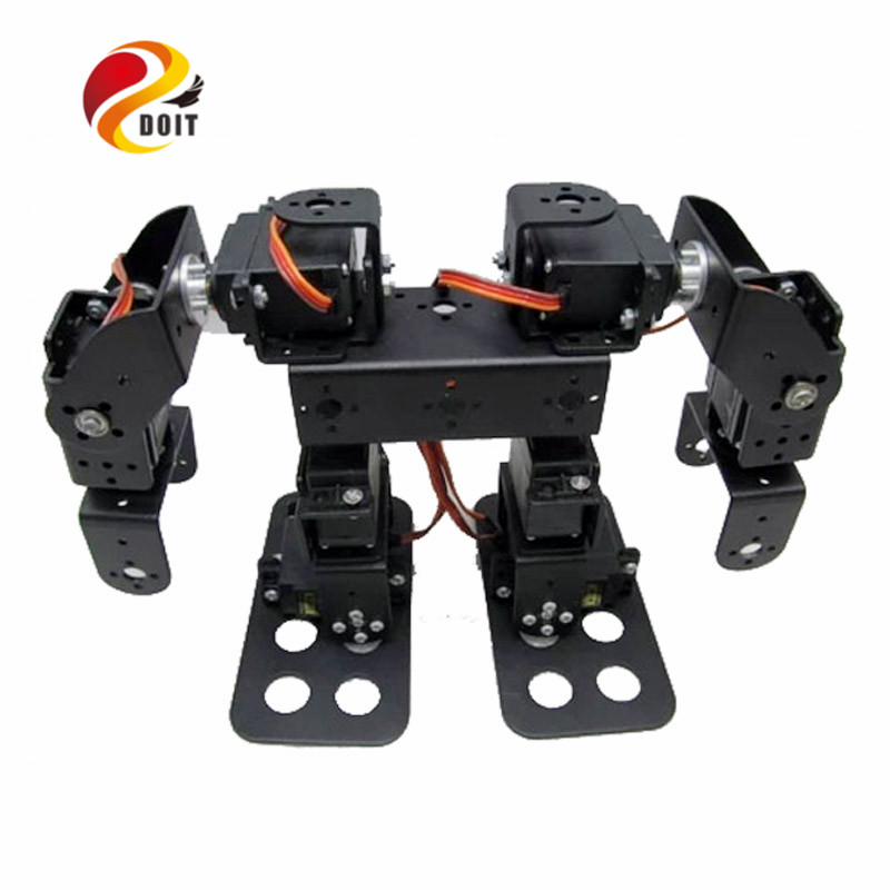 8 DOF Humanoid Robot Walking Man Bipedal Robot Steering Gear Bracket Part8 DOF Humanoid Robot Walking Man Bipedal Robot Steering Gear Bracket Part