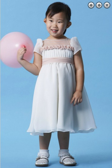free shipping white   dress     flower     girl     dresses   for weddings 2016 new wedding party first communion kids pageant   dresses   for   girls