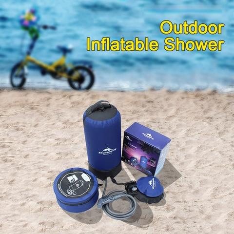 pe leve saco agua para acampamento ao ar livre