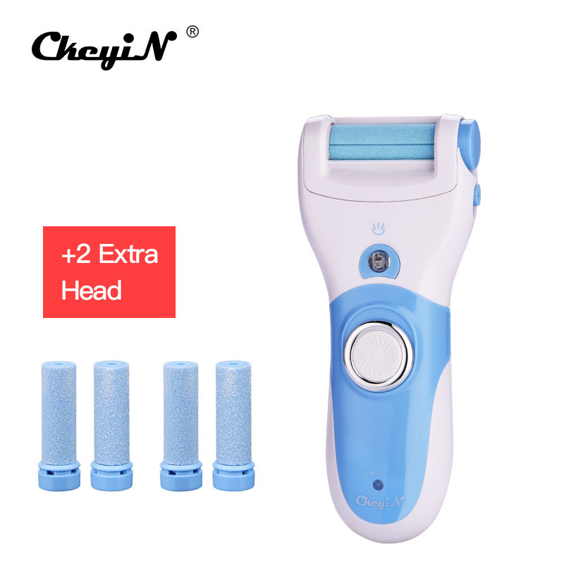 Hot Rechargeable Foot Care Tool + 6 Roller Electric Pedicure Peeling Dead Skin Removal Feet Care Machine Personal Care For Feet 1 set feet care pedicure machine foot care dead skin peeling removal grooming tool pedicure tools