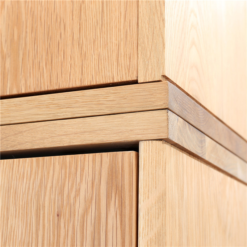 Wild Oak W921 Double Door Wardrobe Closet White Oak Solid Wood Modern  Minimalist Scandinavian Design Original Spot Shipping In Wardrobes From  Furniture On ...