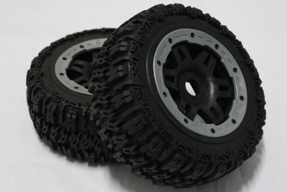 Pioneer tire completed rear fit baja 5T T1000. baja 5SC front knobby tire set for baja 5t 5sc 2pc 95162