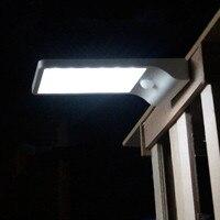 Outdoor Solar Wall Lamp Sconce LED Solar Lamp Garden Light Lighting Motion Sensor Lampara Energia Solar Lampe Solaire