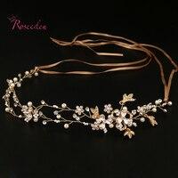 Handmade Bridal Hair Accessories New Tiara Head Piece Crystal Head Piece Women Girls Rhinestone Pageant Tiaras
