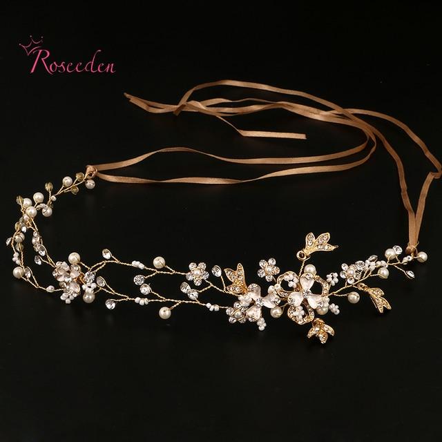 Handmade Bridal Hair Accessories New Tiara Head Piece crystal head piece Women G