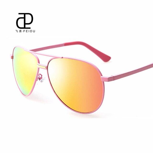 FEIDUMen Sunglasses Fashion Sunglasses Women Oval Alloy Frame Mirror Polarized Driveing Eyewear Couple Models Sunglasses