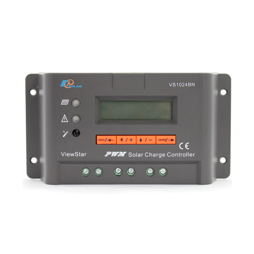 Rapture 1pc X 10a View Star Vs1024bn 12v 24v Auto Ep Pwm Solar System Kit Controller Lcd Display Structural Disabilities