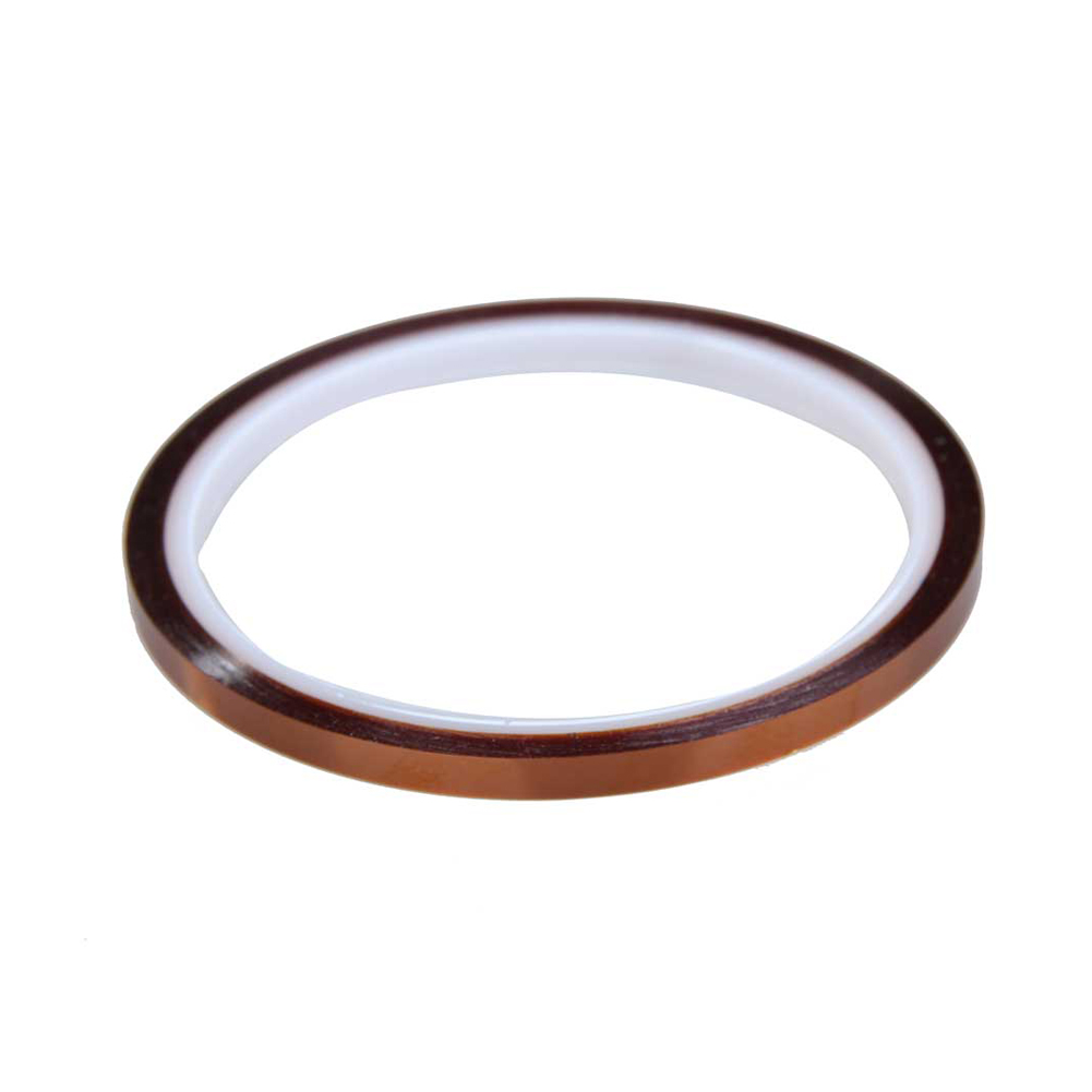 High Quality 5mm x 30m High Temperature Heat Resistant Polyimide Adhesive Tape BS high temperature heat resistant polyimide adhesive tape 65mm x 30m 260 300 degree new for electronics industry