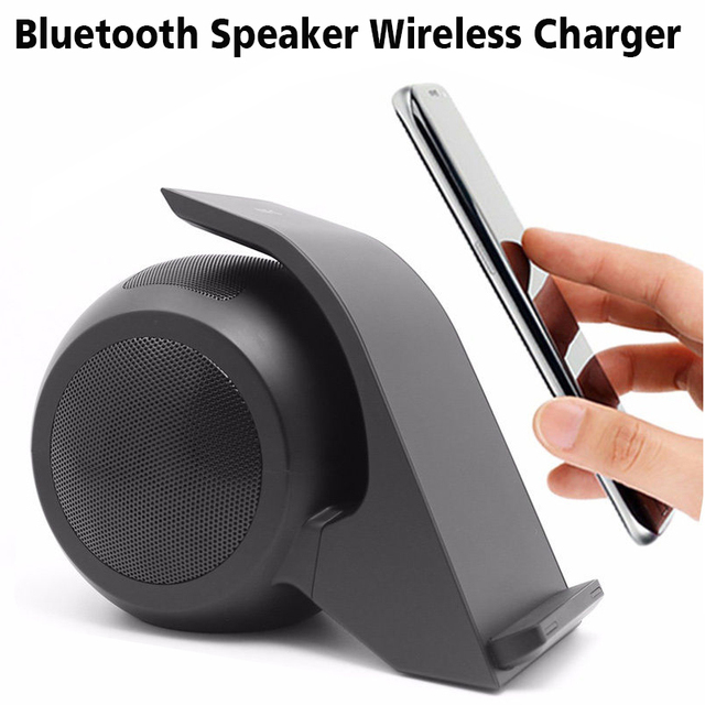 2 in 1 Wireless Charger +Bluetooth Speaker Fast Charger