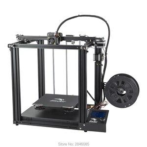 Image 3 - CREALITY 3D מדפסת Ender 5 עם לנדי יציב כוח, V1.1.3 mainboard, מגנטי לבנות צלחת, כיבוי לחדש הדפסת מסכות