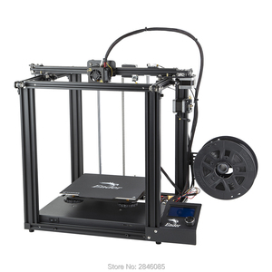 Image 2 - CREALITY 3D Printer Ender 5 Dual Y axis Motors Magnetic Build Plate Power off Resume Printing Masks Enclosed Structure