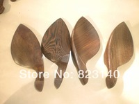 4 PCs Violin Chin rest 4/4, Wenge wood chinrest