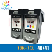 Hisaint PG40 CL41 Ink Cartridge For PG 40 PG 40 CL 41 For Canon Pixma iP1180 iP1200 iP1880 iP2200 MP460 MP476 MX308 FAX JX20