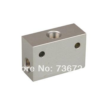 ST 02 G1/4 Shuttle Valve ,pneumatic control valve,air control valve,Solenoid valve