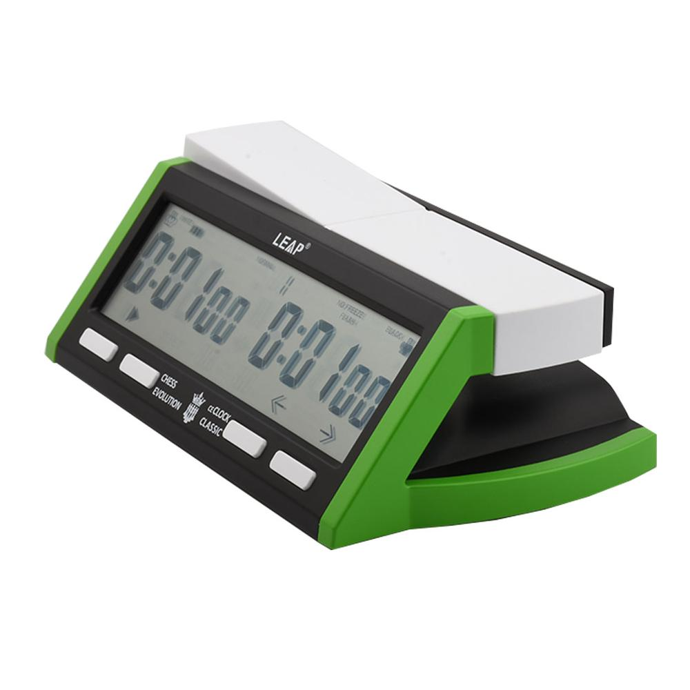 LEAP PQ9918 Digital Chess Clock Professional Count Up Down Alarm Game Timer USB Charging