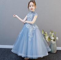 Girl Dresses Cinderella Dress Costume Princess Party Dresses Girls Christmas Clothes Fresh Dress For Teenagers HW2257