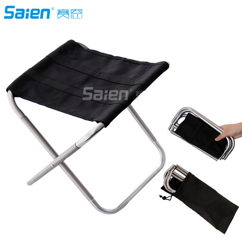 Fantastic Us 16 98 Portable Compact Lightweight Camp Chair With Bag Ultralight Folding Camp Chairs For Hiking Fishing Travelling Outdoor Stool In Fishing Inzonedesignstudio Interior Chair Design Inzonedesignstudiocom