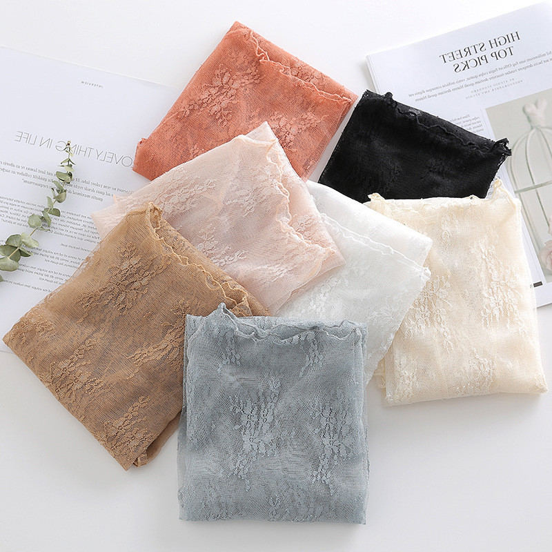 3XL Lace   Blouse   Women Mesh   Shirt   Transparent   Blouse   Tops Female Hollow Out Long Sleeve See-through   Blouses     Shirts   Women Q1231