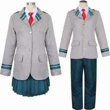 My Hero Academia Cosplay Costume Anime Boku no Hero Academia School Uniform Ochaco Uraraka Midoriya Izuku Gym Suit Sportswear