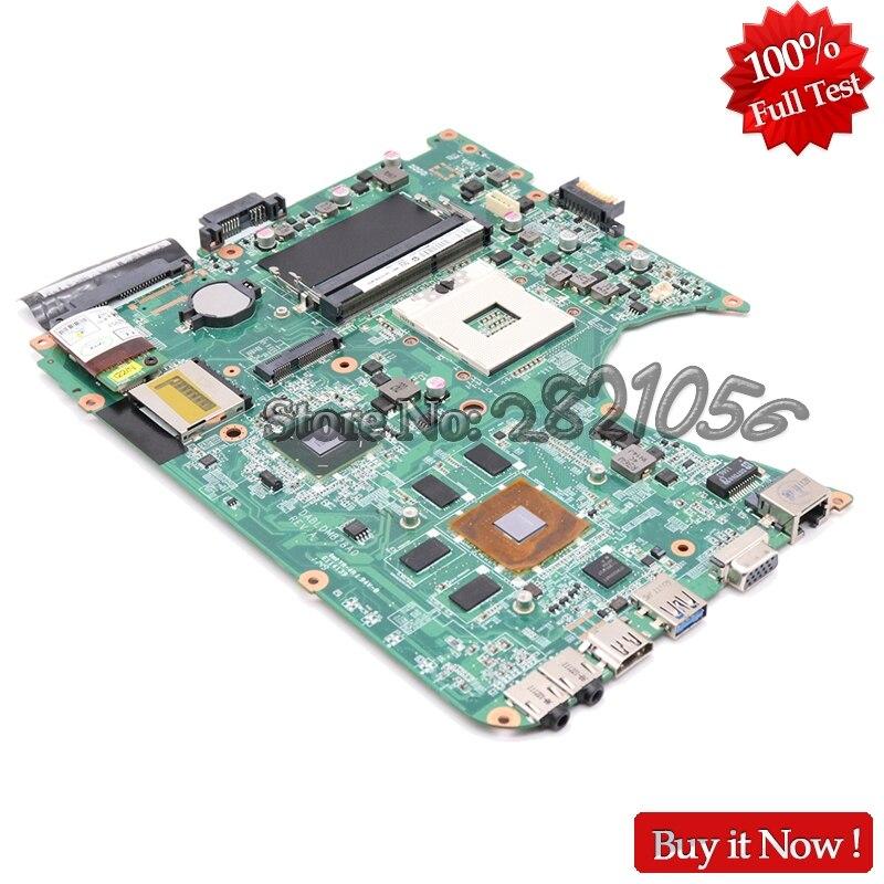 NOKOTION A000081570 DABLDDMB8D0 Laptop Motherboard For Toshiba Satellite L750 L755 Main Board REVD HM65 DDR3
